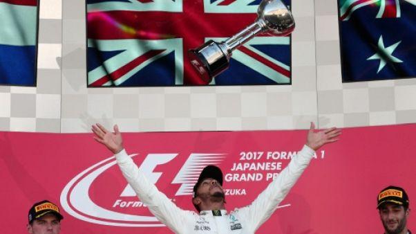 """GP du Japon: """"Rester humble"""", assure Hamilton (Mercedes)"""
