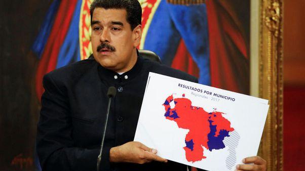 Venezuela leader thanks hostile Trump for making him 'famous'