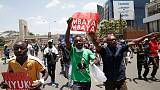 Kenya rights group - 37 killed in protests after August elections