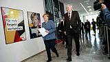 Les réfugiés, 1er obstacle pour former le prochain gouvernement Merkel