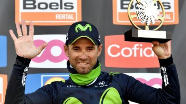 Cyclisme: Valverde, rétabli, compte viser Giro, Vuelta et Mondial en 2018