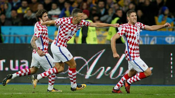 Shaky Croatia grab World Cup playoff place with 2-0 win over Ukraine