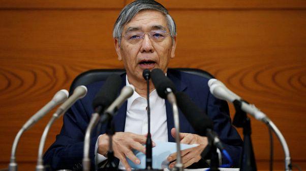 BOJ Governor Kuroda pledges to stick with quantitative easing
