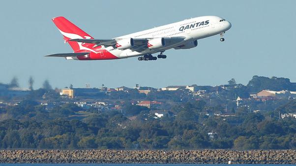 Qantas raising A$350 million in loan, allows switching aircraft types used as collateral