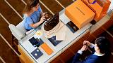 LVMH shares climb to near record highs after third quarter sales rise