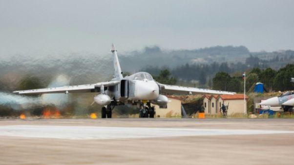 Syrie: crash d'un avion militaire russe au décollage, l'équipage tué