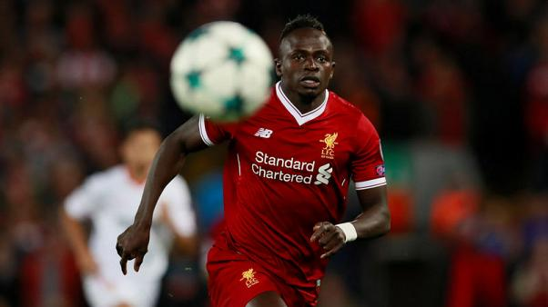 Liverpool's Mane facing six weeks out with hamstring injury