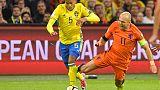 Sweden book playoff spot despite Robben-inspired defeat to Netherlands