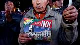 Bolivians protest Morales' new bid to extend term limits