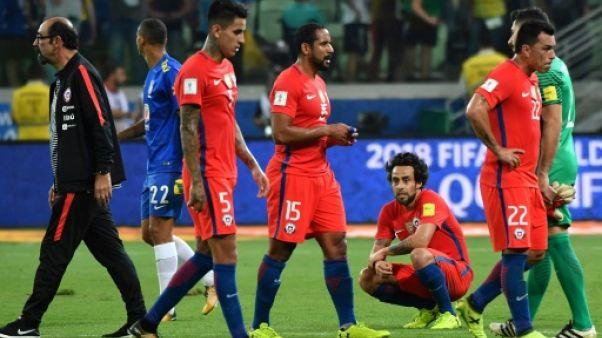 Mondial-2018: battu au Brésil, le Chili dit adieu à la Russie