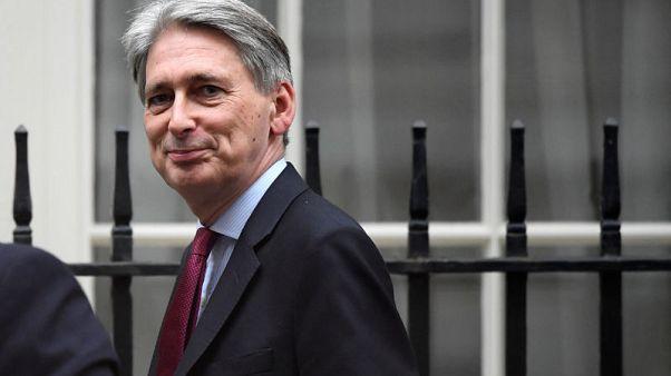 Hammond speaks on economy, Brexit in parliament
