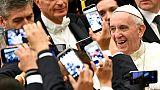 Le pape François rassemble 40 millions d'abonnés sur ses 9 comptes Twitter