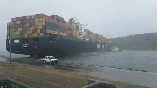 South Africa's Durban Port remains closed after severe storm