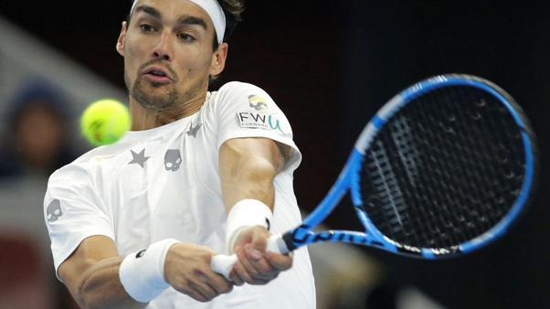 Italian Fognini gets suspended two grand slam ban for U.S Open outburst
