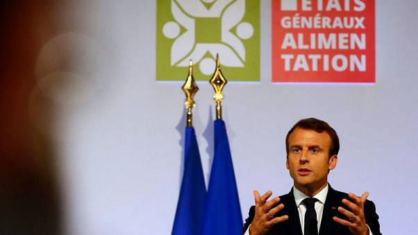 Macron calls for French food chain changes to help farmers