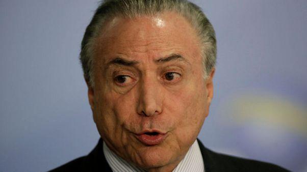 Brazil's president treated for small coronary blockage