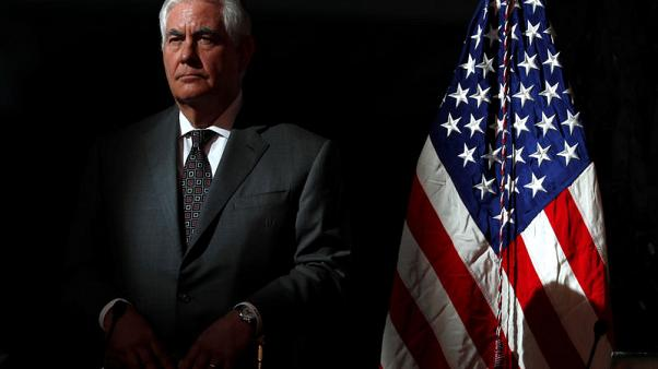 U.S.'s Tillerson speaks with Turkish counterpart about visa spat