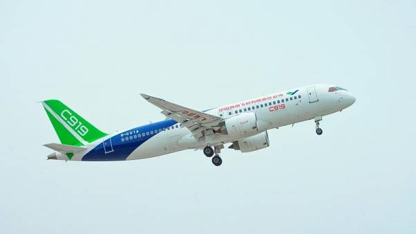 China's COMAC says C919's third test flight delayed due to bad weather