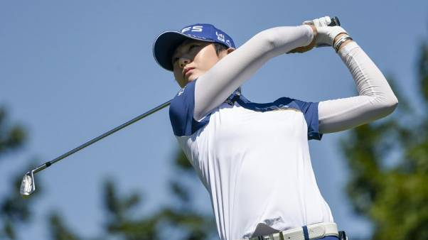 Super rookie Park shares lead in South Korea