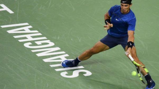 Tennis: Nadal rejoint Dimitrov en quarts au Masters 1000 de Shanghai