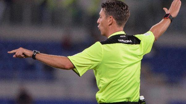 Serie A: Roma-Napoli affidata a Rocchi