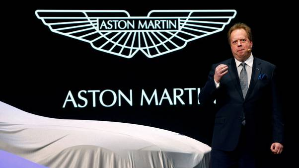 Sports car maker Aston Martin counts on an SUV to drive its future