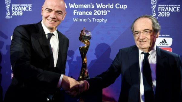 """Mondial-2019 dames: Le Graët espère des """"stades pleins"""""""
