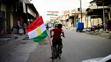 "Iraqi government says Kurds must back country's ""unity"" before talks"