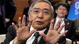 BOJ's Kuroda says sees no problem with policy divergence
