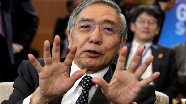 BOJ's Kuroda says sees no problem with policy divergence