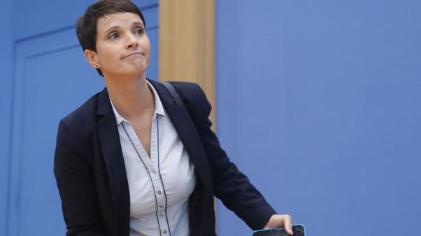 Former leader of Germany's far-right kicks off new 'Blue Party'