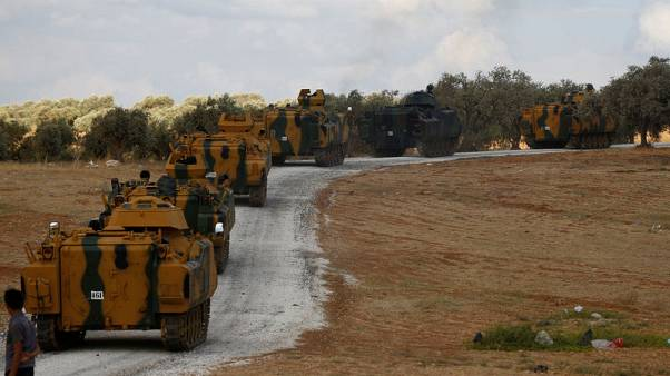 First convoy of Turkish military op enters Syria's Idlib - witness and rebels