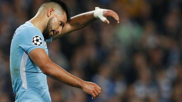 Aguero returns to full training ahead of Stoke clash