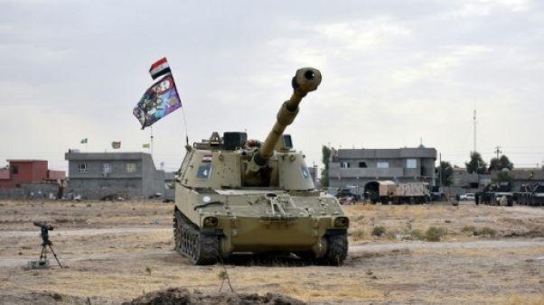 L'Irak reprend des positions aux peshmergas dans la province de Kirkouk