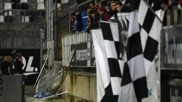 """Accident d'Amiens-Lille: les barrières du stade pointées du doigt pour """"anomalies"""""""