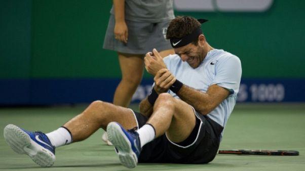 Tennis: Del Potro qualifié... mais incertain en demi-finales du Masters de Shanghai