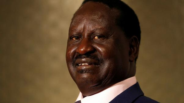 Kenya's Odinga says October poll would be illegal
