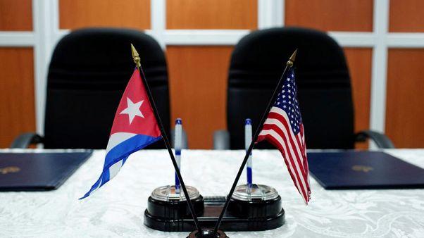 U.S. to maintain Cuba, Venezuela sanctions until freedoms restored - Trump