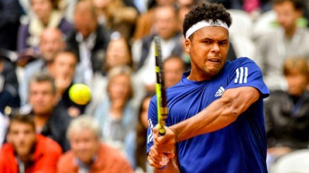 Tennis: Tsonga obtient une wild card pour remplacer Monfils à Anvers