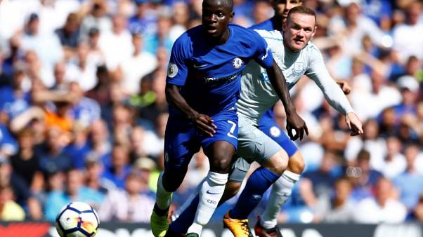 Chelsea's Kante out for nearly a month with hamstring injury