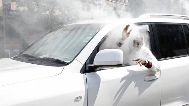 A picture and its story: tear gas in Nairobi