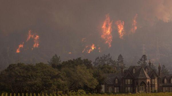 Le bilan des feux en Californie grimpe à 38 morts