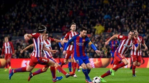 Espagne: Atletico-Barça en plein conflit politique entre Madrid et Barcelone