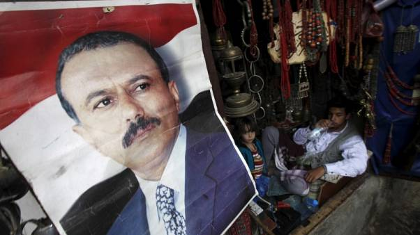 Yemen's ex-president Saleh stable after Russian medics operate