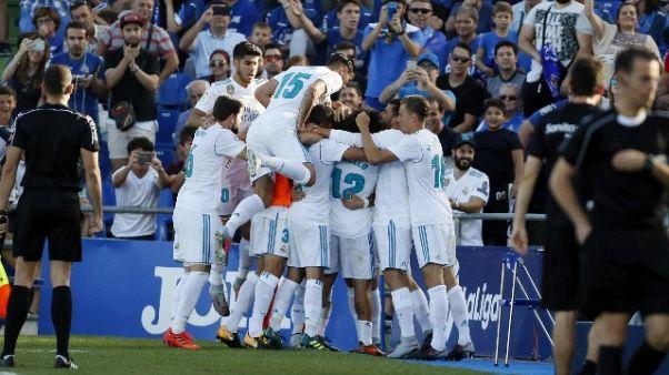 Ronaldo decide, R. Madrid vince a Getafe