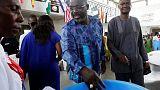 Soccer star Weah and VP Boakai near Liberia presidential run-off