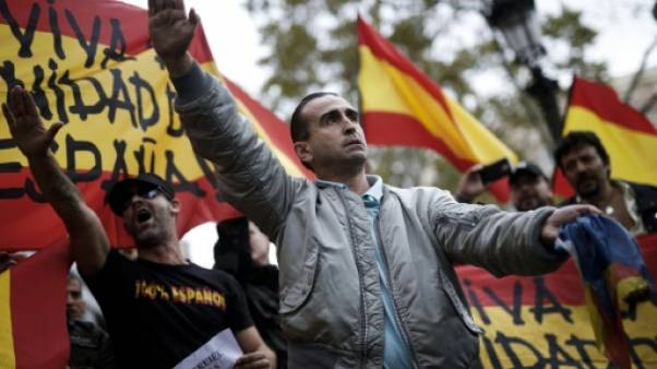 L'extrême droite gagne en visibilité en Espagne avec la crise catalane