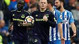 Late Rooney penalty rescues draw for Everton at Brighton