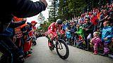 Cyclisme: Toft Madsen surprend et surclasse les favoris au Chrono des nations