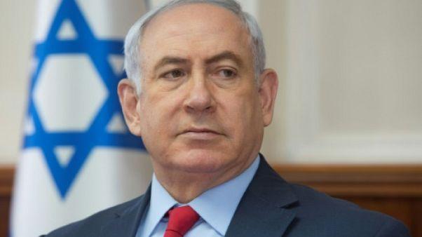 """Israël: Netanyahu veut contrôler le financement étranger d'ONG """"luttant contre l'armée"""""""